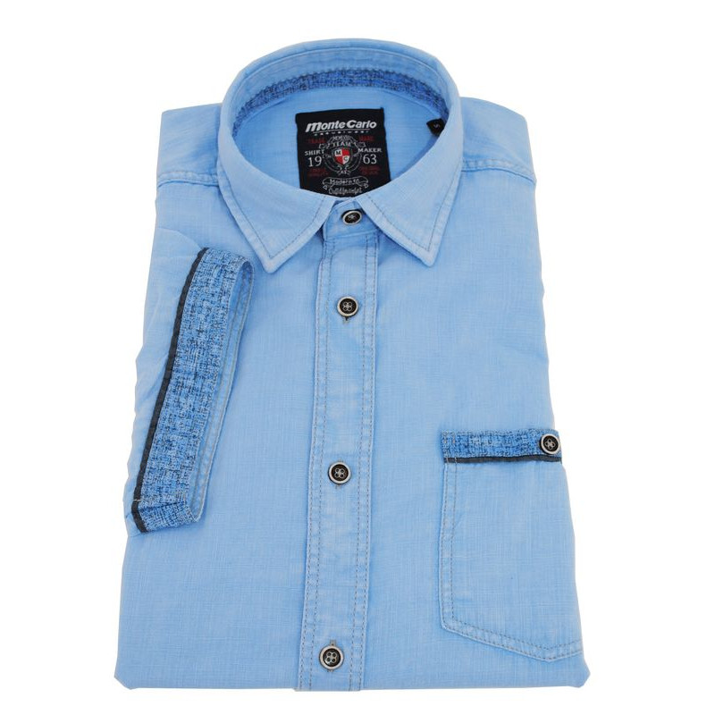 Chemise MONTE CARLO manches courtes casual