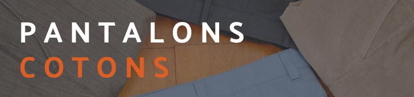 Pantalon ou chino coton. Meyer, Mens, Emyle, Pierre Cardin, Luigi